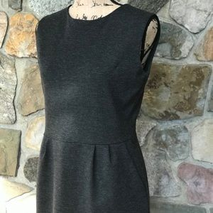 Uniqlo Charcoal grey sheath dress size M